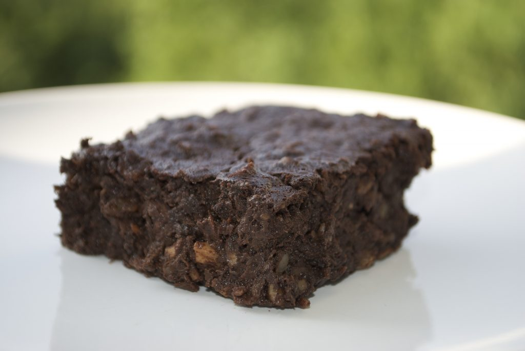 Gluten – og sukkerfri banan brownie